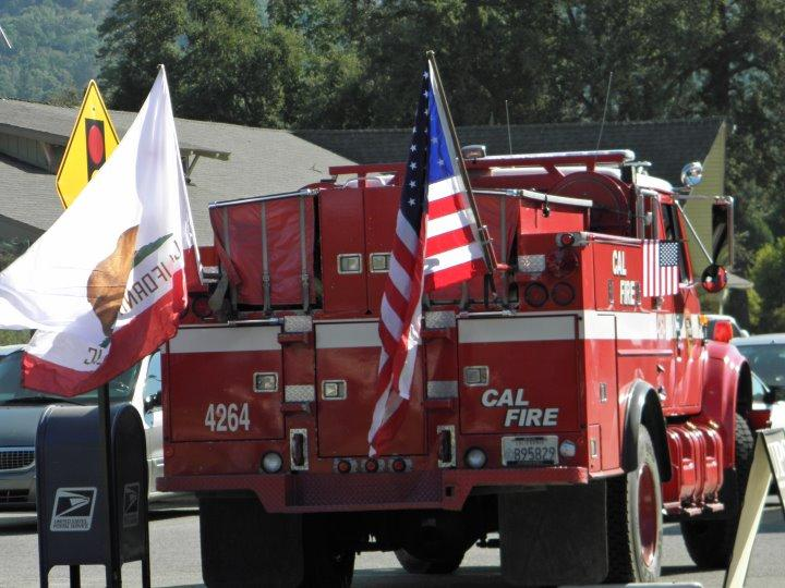 Patriot Day 9-11-12 Cal Fire engine