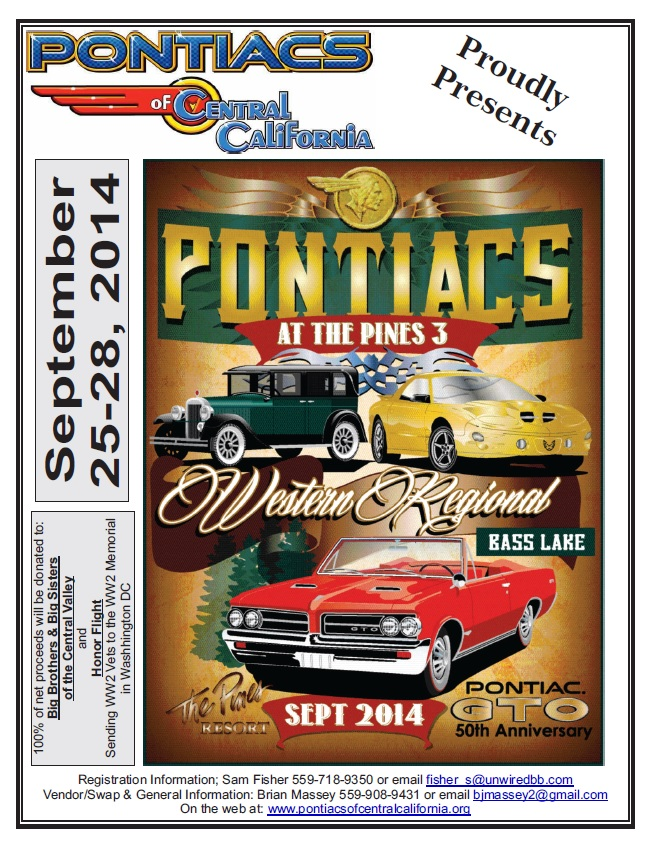 Pontiac at the Pines 2014