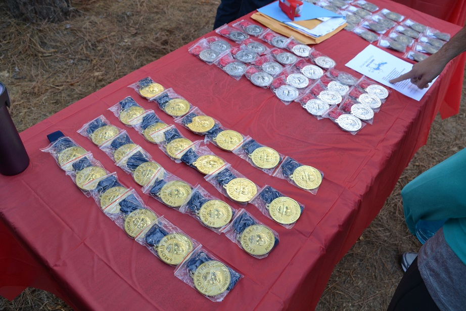 Medals for Smokey Bear winners