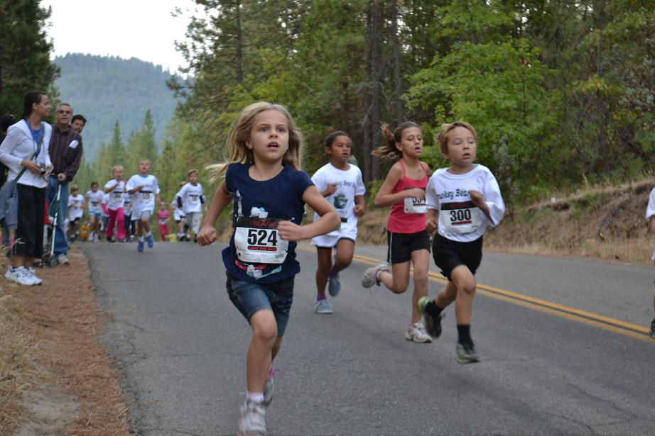 Smokey Bear Run 5-8 yrs determination 9-22-12