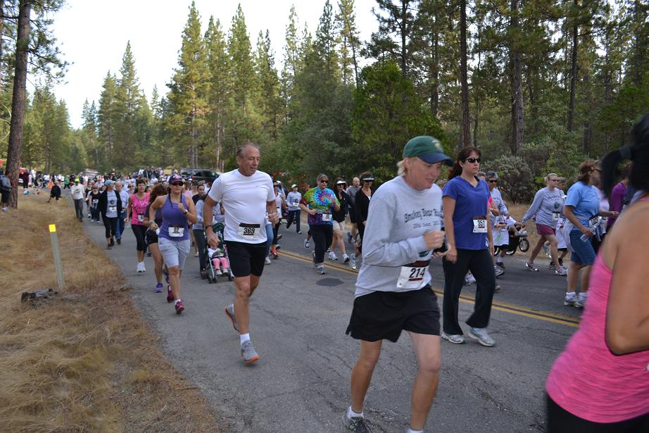 Smokey Bear Run John Anderson 9-22-12