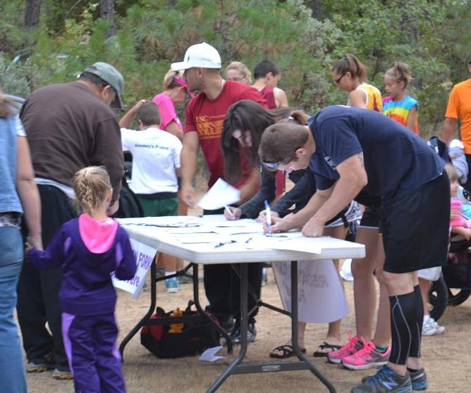 Smokey Bear Run Registration 9-22-12