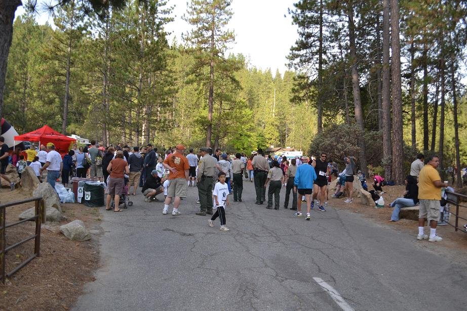 Smokey Bear Run Registration Area 9-22-12