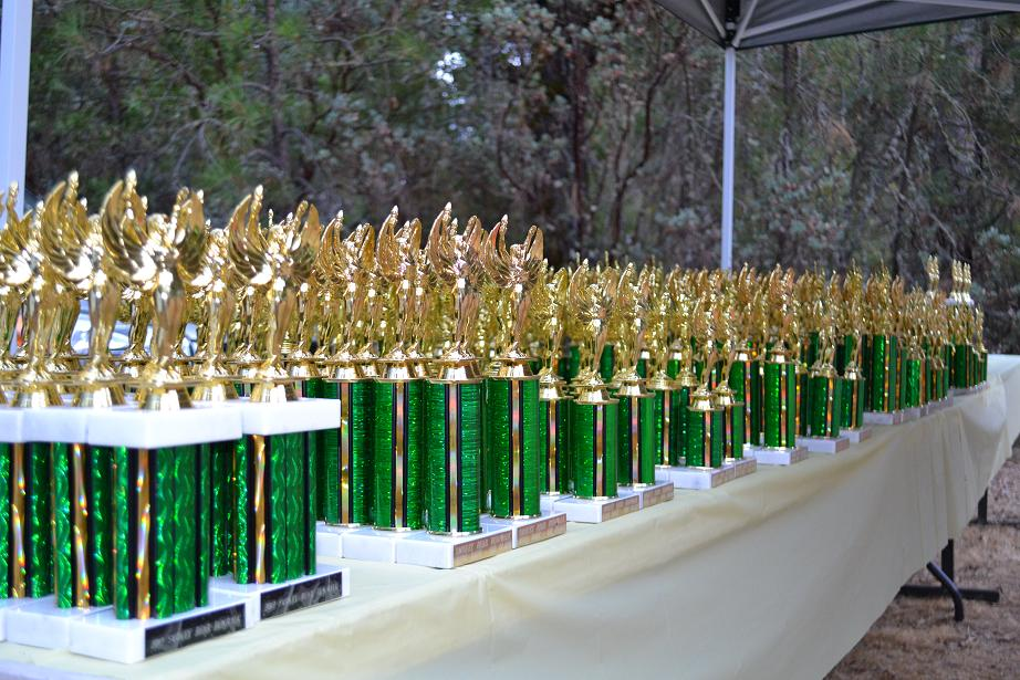 Smokey Bear Run Trophies 9-22-12