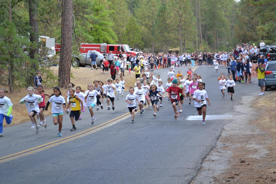 Smokey Bear Run kids 5-8 yrs 9-22-12