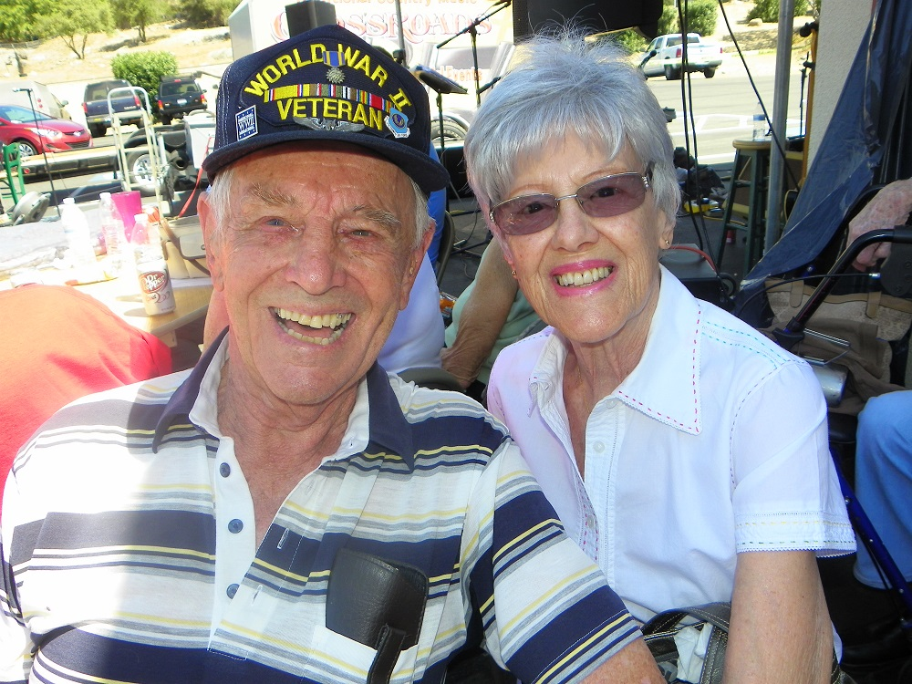Veterans Stand Down Coarsegold 2013 - veteran and his mrs. - Photo by Kellie Flanagan