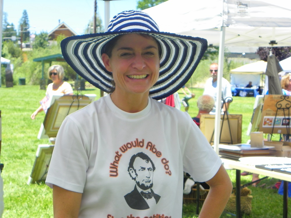 Yos Fest - What would Lincoln do - photo by Kellie Flanagan