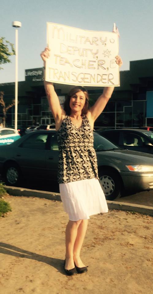 Karen Adell Scot Transgender Day of Visibility 2015 - photo courtesy of Karen Adell Scot