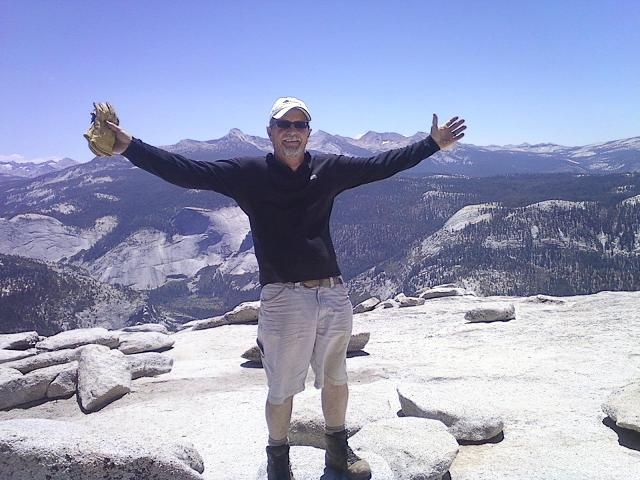 Tim Madden on Half Dome 7-7-12