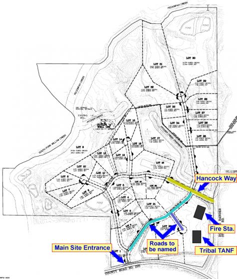 Mill Site Road Map CDC